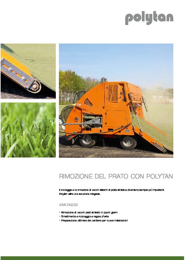 Turf Removal Brochure