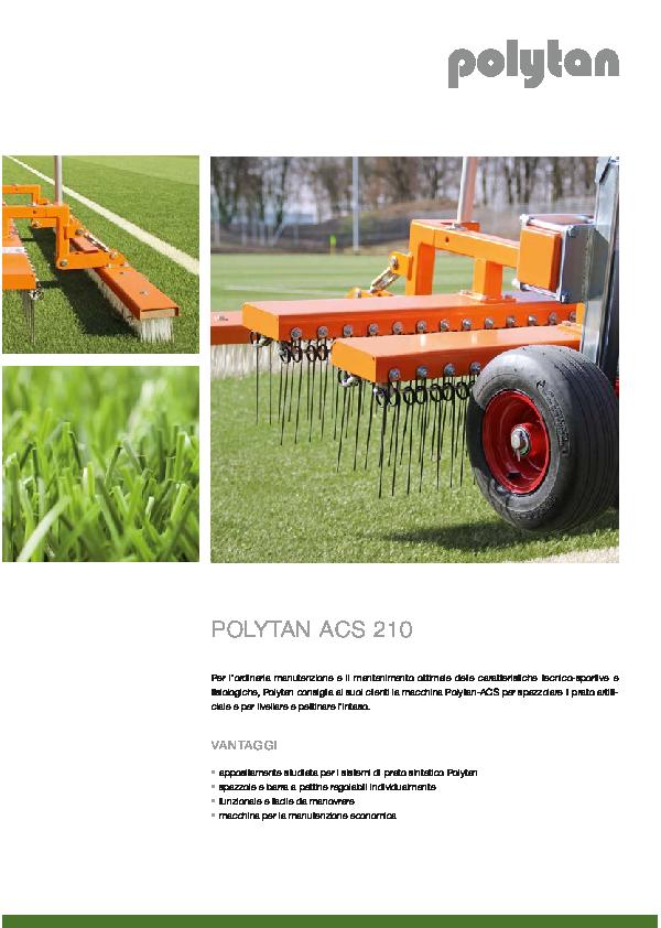 Polytan ACS 210 Brochure